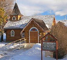 St. Peter's Church, Hudson's Hope, BC by Darbs