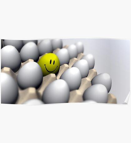 Happy Egg Poster