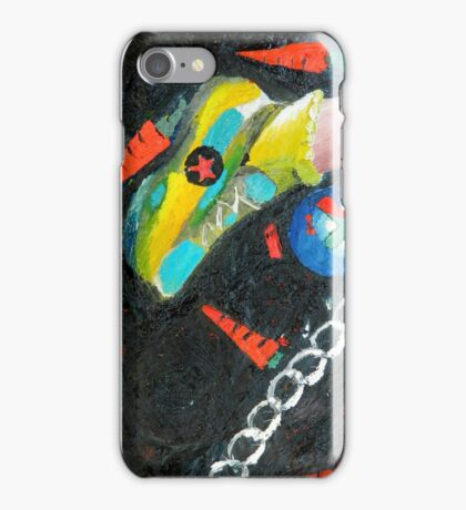 A risky step iPhone Case/Skin