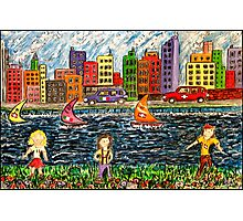 The River Race Photographic Print