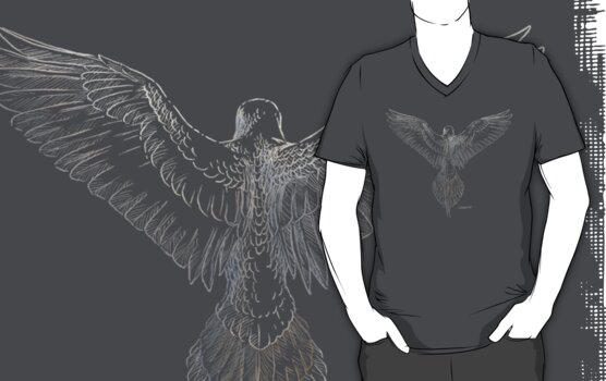 Mourning Dove (dark shirts) by Stephanie Smith