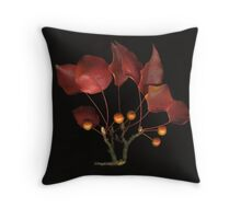 Ornamental Pear Throw Pillow