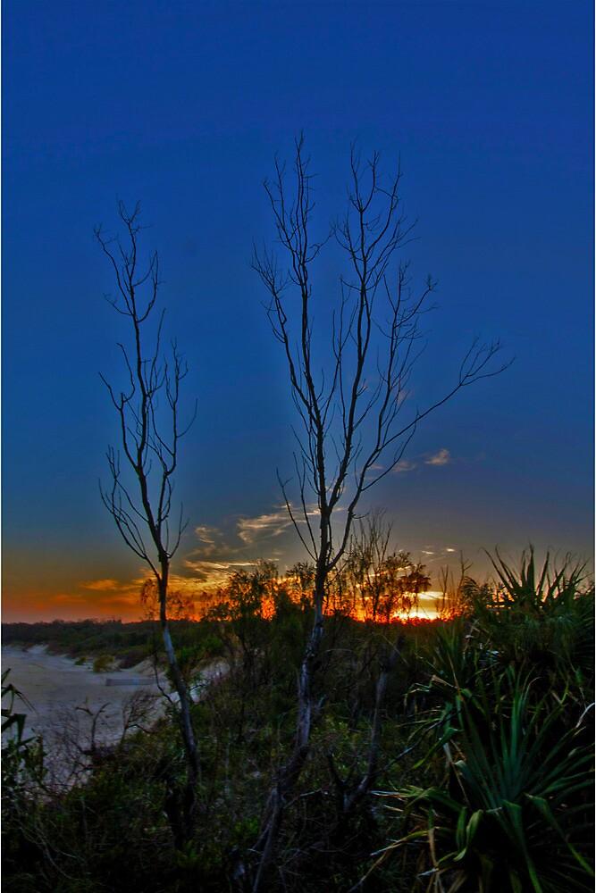 Burning Sunset at Dreamtime by Tim Richardson