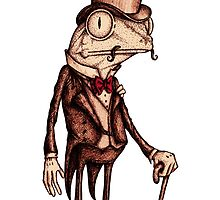 'Pretentious Frog' by Jodee Taylah