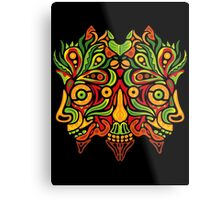 Psychedelic jungle demon Metal Print