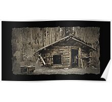 Miners Cabin Poster