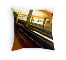 Virginia Square Metro Throw Pillow
