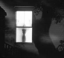 Figure in Window by Ann Marie Donahue