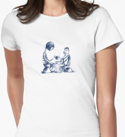 Tea With Maurice Womens Fitted T-Shirt