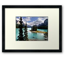 A Canadian Icon Framed Print