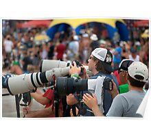 Surf Photographers - Quicksilver Pro Poster