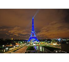 Xmas in Paris Photographic Print