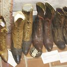 Shoes at the Palo Pinto Museum by Susan Russell