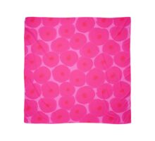 Hot pink flowers Scarf