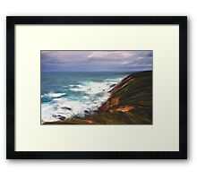 Devouring the Land Framed Print