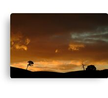 Pyrenees Sunset Canvas Print