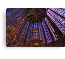 Sainte Chapelle, Paris Canvas Print