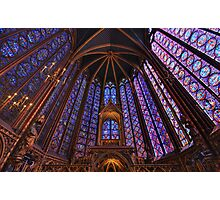 Sainte Chapelle, Paris Photographic Print