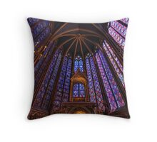 Sainte Chapelle, Paris Throw Pillow