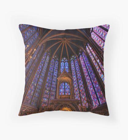 Sainte Chapelle, Paris Throw Pillow