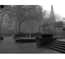 And the rain came down............... Photographic Print