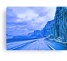 blue highway Canvas Print