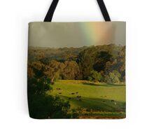 Late Light, Otway Farmlands Tote Bag
