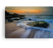 When Ocean Awakens... Canvas Print