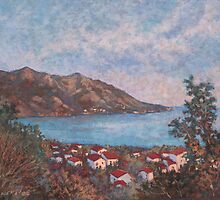 Budva mountain view by Vera Kalinovska