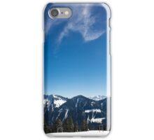 Panorama Alpwegkopf iPhone Case/Skin