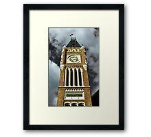 Towering Time - CBD, Perth, Western Australia Framed Print