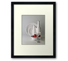 TOUCH OF RED #2 Framed Print