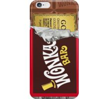 Willy Wonka Golden Bar iPhone Case/Skin