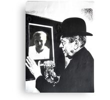 Magritte and Me Again. Canvas Print