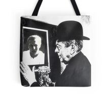 Magritte and Me Again. Tote Bag