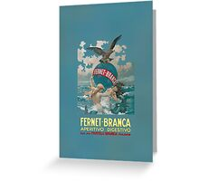 Fernet B Greeting Card