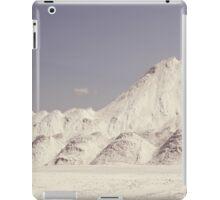 Snow white mountains iPad Case/Skin