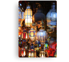 Light up your life (Marrakech, Morocco) Canvas Print