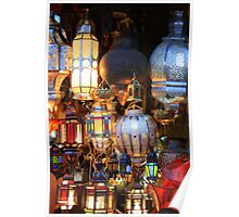 Light up your life (Marrakech, Morocco) Poster