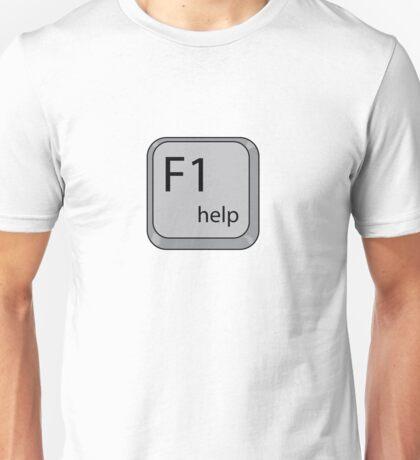 F1 help Unisex T-Shirt