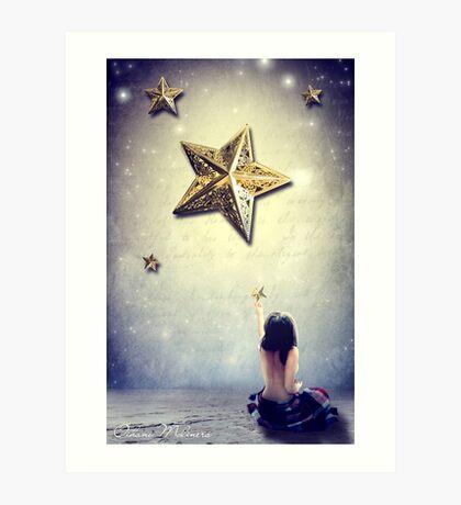 XVII. The Star Art Print