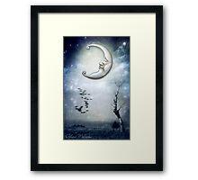 XVIII. The Moon Framed Print