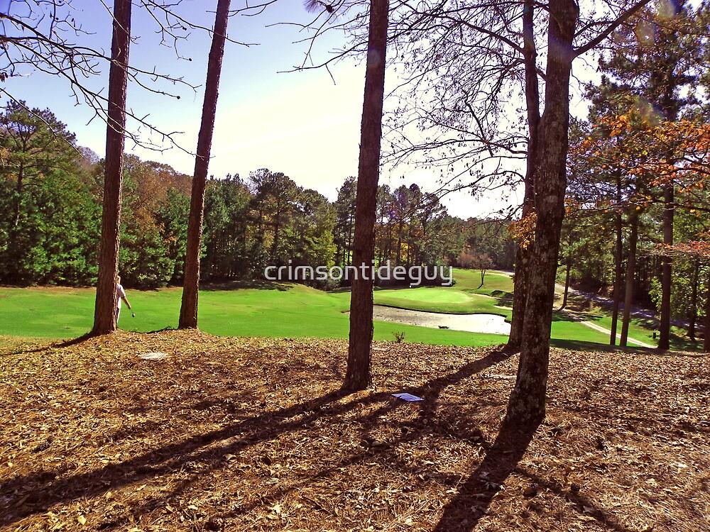 Old Golfers Memorial by Mike Pesseackey (crimsontideguy)