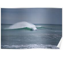 New Plymouth Waves - New Zealand Poster