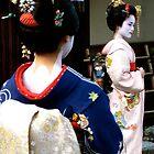 Geisha girls in Kyoto by missmarbles