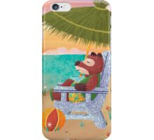 Beach Fox iPhone Case/Skin