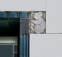 art deco koala by Christopher Biggs