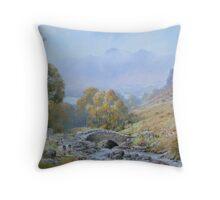 Ashness  Bridge, Cumbria, England Throw Pillow