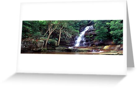 Somersby Falls, NSW by 4thdayimages