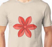 Red Kusudama Unisex T-Shirt